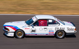 Classic BMW 635 CSi race car Stock Photos