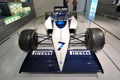 Classic BMW F1 car on display in BMW Museum Stock Photos