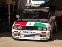 Classic BMW M3 race car. Photographed during Histocup event at Slovakia Ring on August 3, 2013 Stock Images