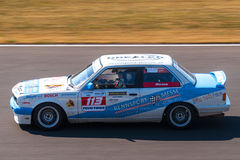 Classic BMW 3 series race car Royalty Free Stock Photos