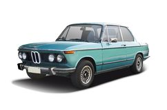 Classic BMW 2002tii Stock Images