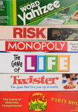 Classic Board Games Closeup Stock Image