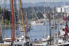 Classic Boats Stock Photo