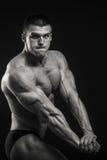 Classic bodybuilder Stock Photos