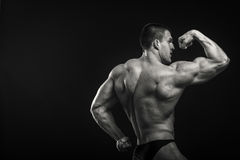 Classic bodybuilder Royalty Free Stock Images