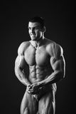 Classic bodybuilder Royalty Free Stock Photography