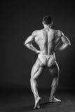 Classic bodybuilder Stock Photography
