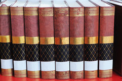 Classic books Stock Photography