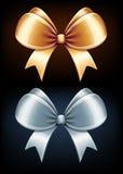Classic bows Stock Photos