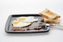 Classic breakfast Stock Photography