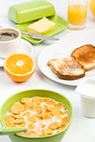 Classic breakfast meal Stock Image
