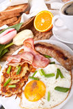 Classic breakfast meal Royalty Free Stock Images