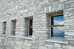 Classic brick house Stock Photography