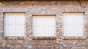 Classic brick house Royalty Free Stock Images