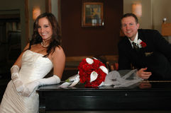 Classic Bride and Groom Stock Images