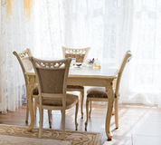 Classic bright Dining Room Royalty Free Stock Photos