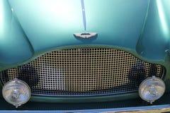 Classic Brit car front detail Stock Image