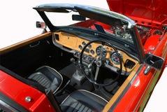 Classic British car. Classic old vintage British car Stock Image