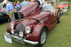 Classic british convertible sports car Royalty Free Stock Images
