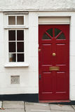 Classic british doorway Royalty Free Stock Photos