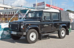 Classic British Landrover Car Royalty Free Stock Photography