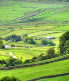 Classic british landscape at the Peak district near Manchester.  Stock Photos