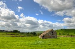 Classic british landscape at the Peak district near Manchester.  Stock Photography
