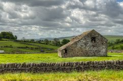 Classic british landscape at the Peak district near Manchester.  Stock Photo