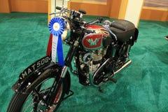 Classic british motorcycle Royalty Free Stock Photo