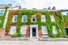 Classic British Townhouse Stock Photo