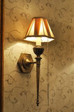 Classic bronze wall lamp Royalty Free Stock Image