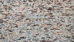 Abstract background classic brown brick wall Stock Photos