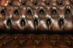 Classic brown leather texture Royalty Free Stock Image