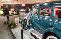 Classic Buick and General View of the CIAS 2014 Royalty Free Stock Images