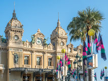 Classic building of Casino de Monte Carlo, Monaco Royalty Free Stock Photography