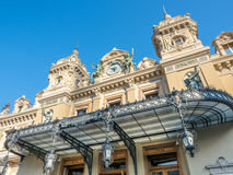 Classic building of Casino de Monte Carlo, Monaco Royalty Free Stock Images