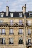 Classic building facade design Stock Photo