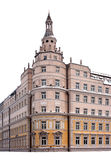 Classic building facade tower Stock Photography