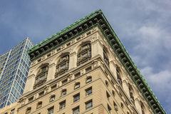 Classic building at Fifth Avenue in New York City Stock Images