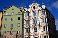Classic building in Innsbruck 2011 Royalty Free Stock Images