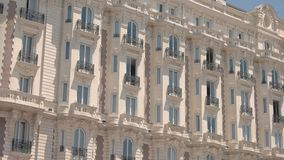 Classic building and sky. stock footage