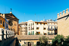 Classic Buildings Architecture In Valencia Stock Photos