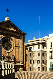 Classic Buildings Architecture In Valencia Royalty Free Stock Photos