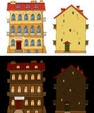 Classic buildings Royalty Free Stock Photo