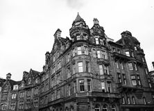 Classic buildings at Edinburgh Stock Photography