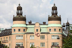 Classic building in stockholm Royalty Free Stock Image