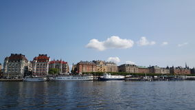 Classic builings in Östermalm Stock Photo