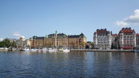 Classic builings in Östermalm Royalty Free Stock Photo