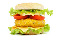 Chicken Sandwich Royalty Free Stock Photography