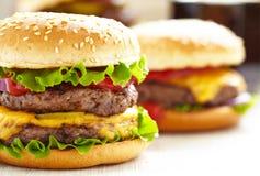 Classic Burgers Royalty Free Stock Photos